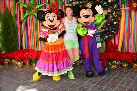 viva navidad mickey and minnie