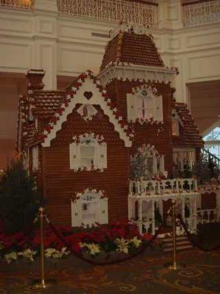 grand floridian gingerbread house