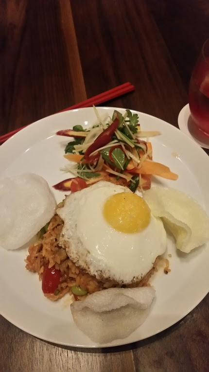 indonesian style duck fried rice