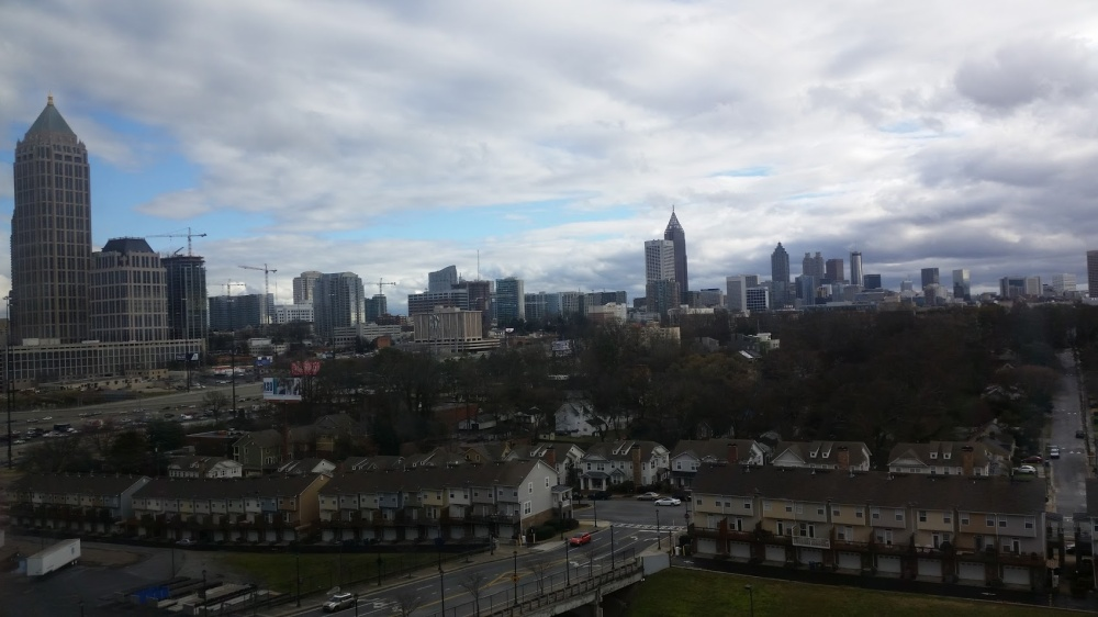Atlanta view from office