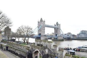 view of the bridge