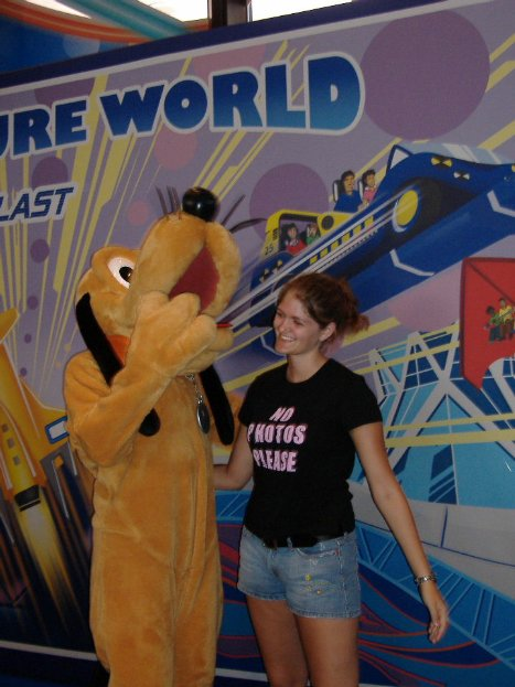 a moment with pluto