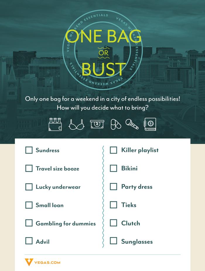 Vegas Checklist Rachael